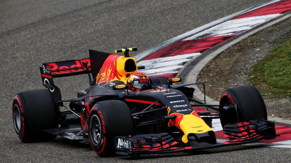 Max Verstappen, Red Bull, Shanghai International Circuit, 2017