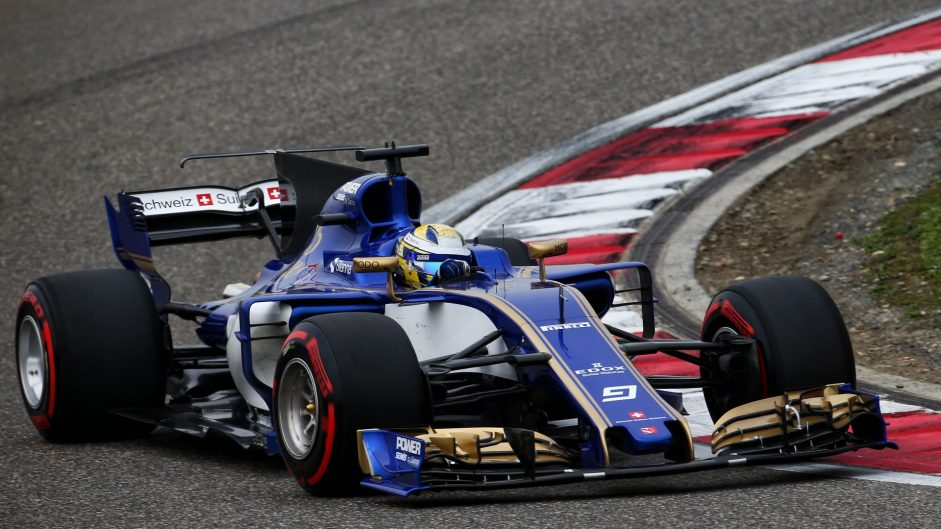 Marcus Ericsson, Sauber, Shanghai International Circuit, 2017