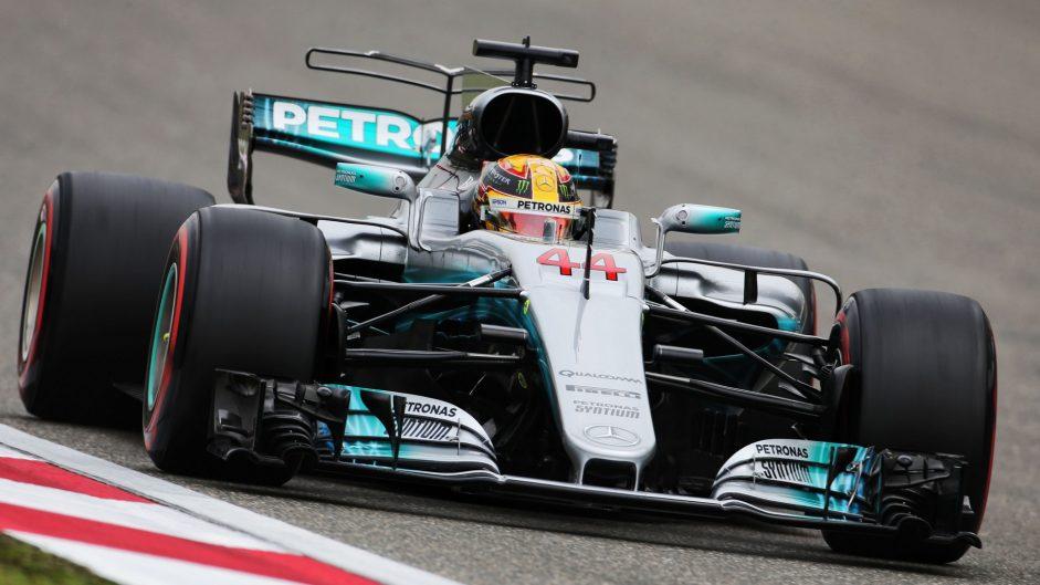 2017 Chinese Grand Prix grid