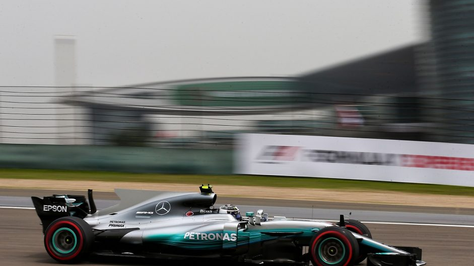 Valtteri Bottas, Mercedes, Shanghai International Circuit, 2017