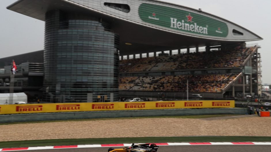Nico Hulkenberg, Renault, Shanghai International Circuit, 2017