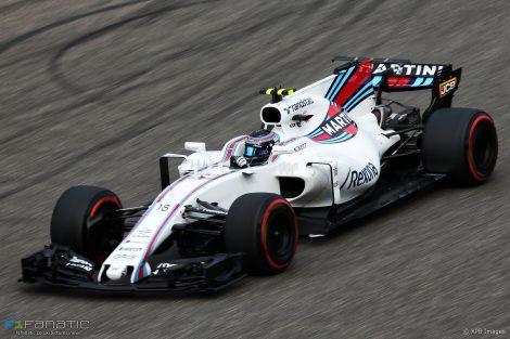 Lance Stroll, Williams, Shanghai International Circuit, 2017