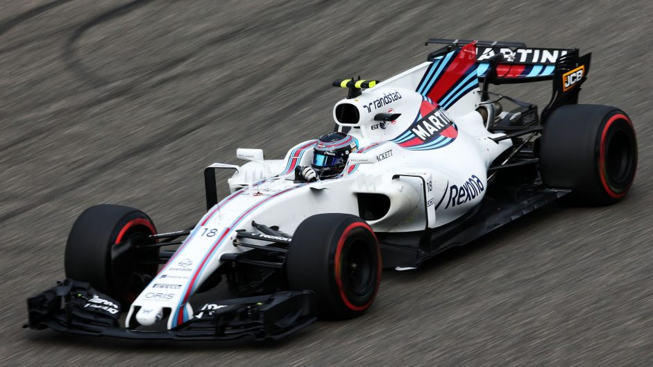 Lance Stroll, Williams, Shanghai International Circuit, 2017