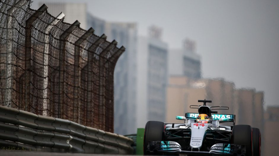 Lewis Hamilton, Mercedes, Shanghai International Circuit, 2017
