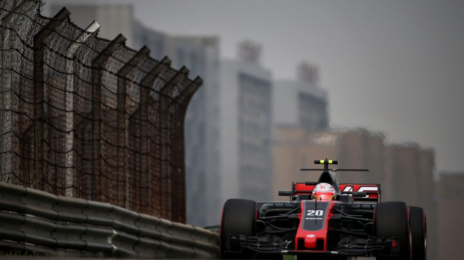 Kevin Magnussen, Haas, Shanghai International Circuit, 2017