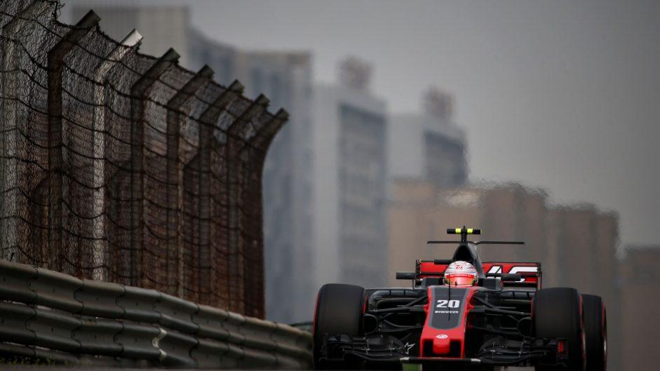 Kevin Magnussen, Haas, Shanghai International Circuit, 2017