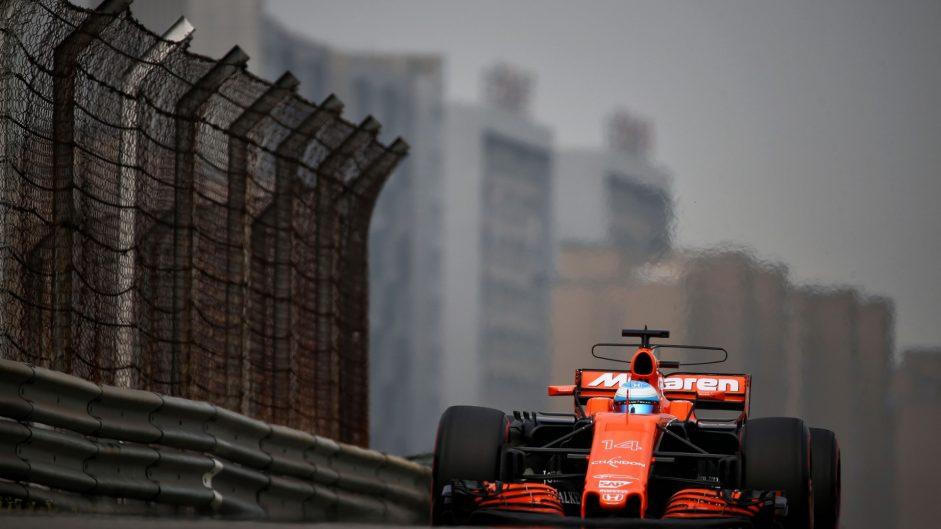 Fernando Alonso, McLaren, Shanghai International Circuit, 2017