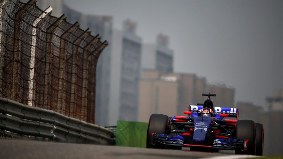 Daniil Kvyat, Toro Rosso, Shanghai International Circuit, 2017