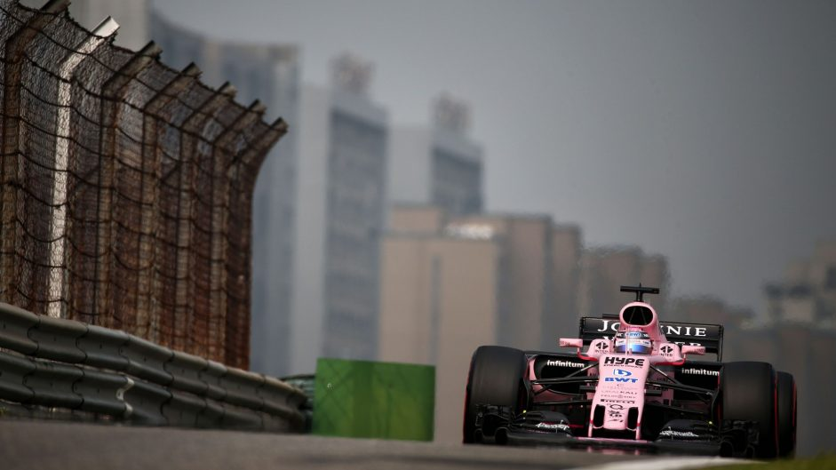Sergio Perez, Force India, Shanghai International Circuit, 2017