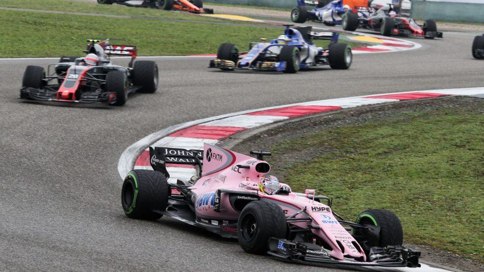 Sergio Perez, Force India, Shanghai International Circuit, 2017