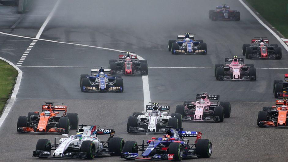 Start Shanghai International Circuit, 2017