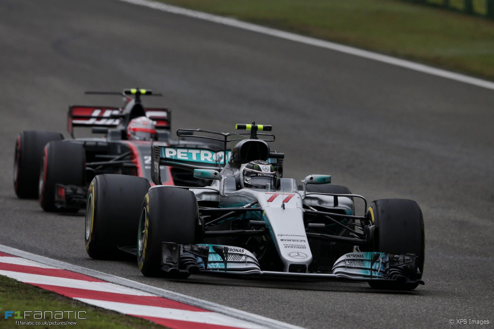 Valtteri Bottas, Mercedes, Shanghai International Circuit, 2017