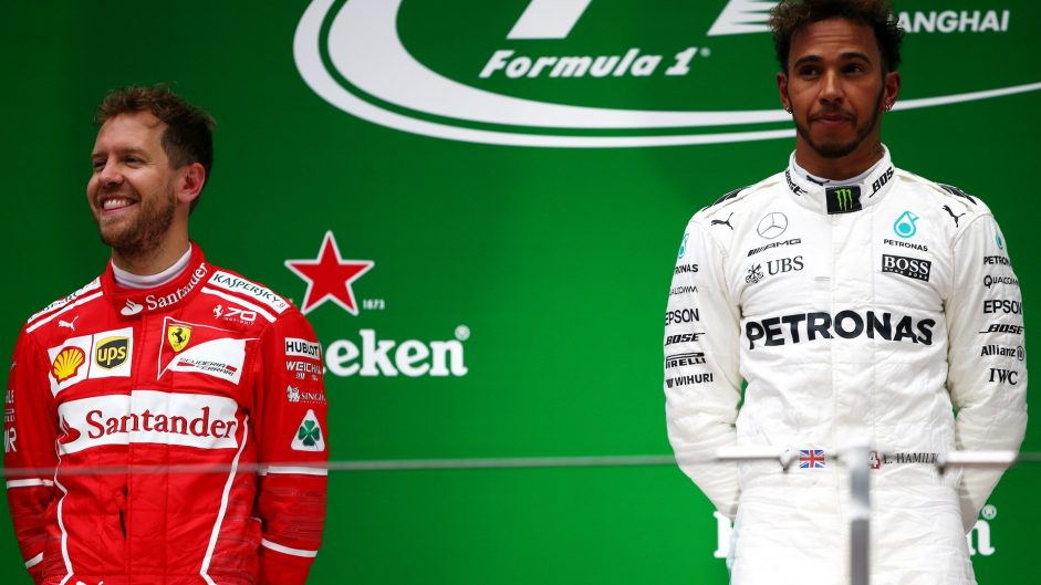 Sebastian Vettel, Ferrari, Shanghai International Circuit, 2017