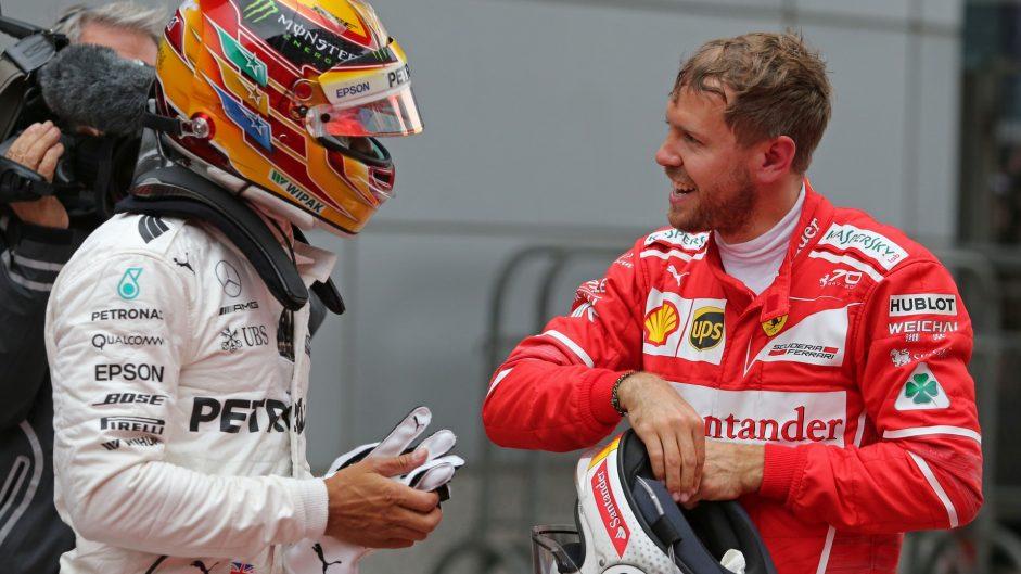 Vettel's flying Ferrari can't keep Hamilton from fifth China win