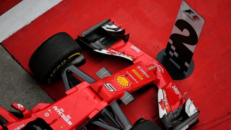 Ferrari SF70H, Shanghai International Circuit, 2017