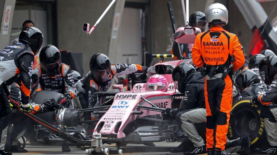 Esteban Ocon, Force India, Shanghai International Circuit, 2017
