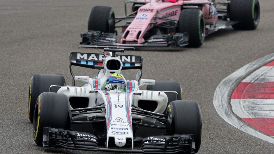 Felipe Massa, Williams, Shanghai International Circuit, 2017