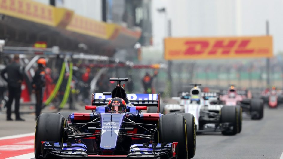 Daniil Kvyat, Toro Rosso, Shanghai International Circuit, 2017