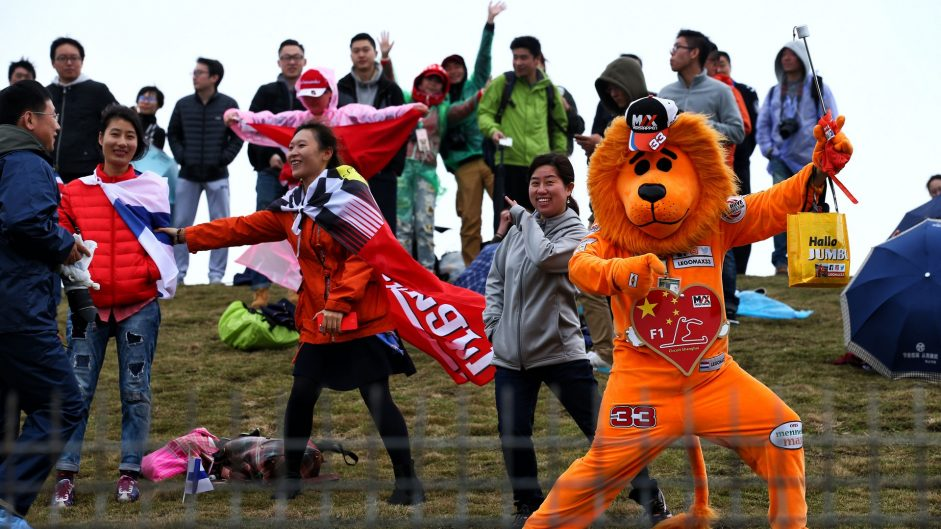 Max Verstappen fan, Shanghai International Circuit, 2017
