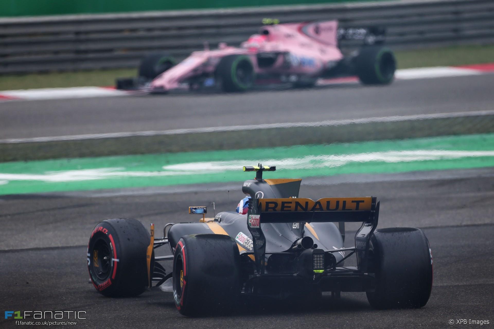 Jolyon Palmer, Renault, Shanghai International Circuit, 2017