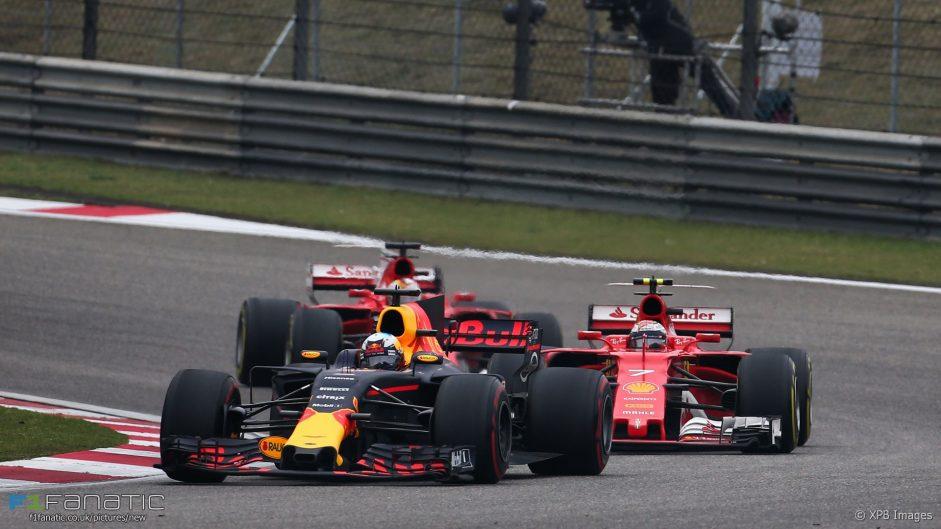 Daniel Ricciardo, Red Bull, Shanghai International Circuit, 2017