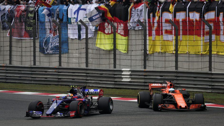 Carlos Sainz Jnr, Toro Rosso, Shanghai International Circuit, 2017