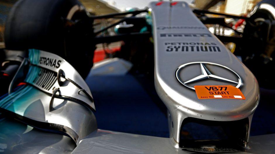 Mercedes W08, Bahrain International Circuit, 2017