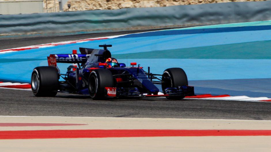 Daniil Kvyat, Toro Rosso, Bahrain International Circuit, 2017
