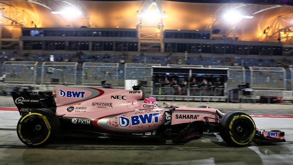 Esteban Ocon, Force India, Bahrain International Circuit, 2017