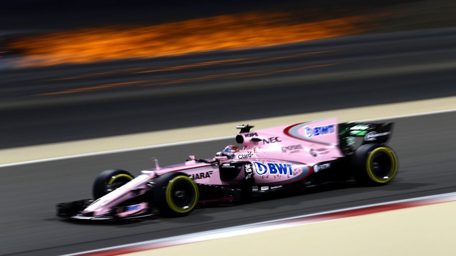 """Perez hails """"perfect race"""" after climb to seventh"""