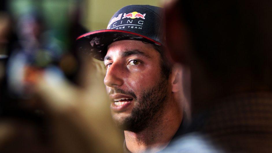 "Beating Raikkonen ""a bit of a surprise"" – Ricciardo"