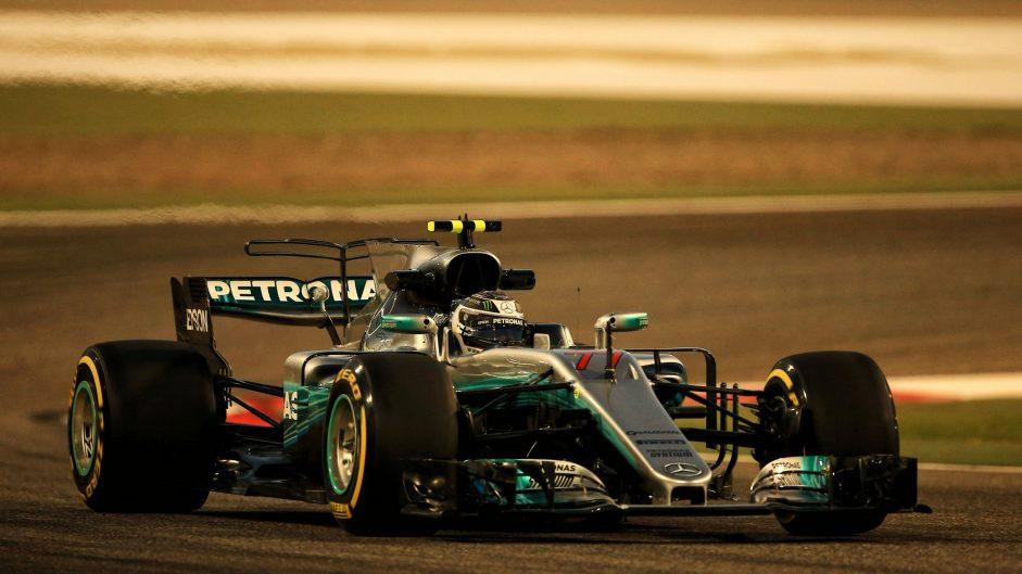 2017 Bahrain Grand Prix grid