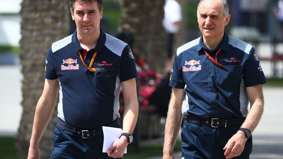 James Key, Franz Tost, Toro Rosso, Bahrain International Circuit, 2017