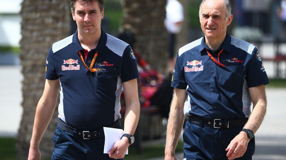 James Key, Franz Tost, Toro Rosso, Bahrain International Circuit, 2017