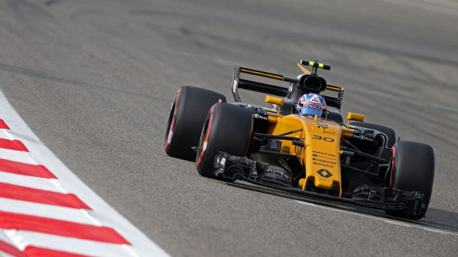 Jolyon Palmer, Renault, Bahrain International Circuit, 2017
