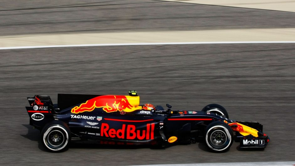 Max Verstappen, Red Bull, Bahrain International Circuit, 2017