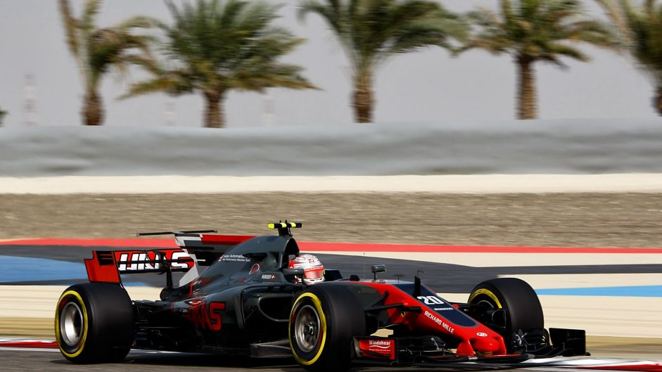 Kevin Magnussen, Haas, Bahrain International Circuit, 2017