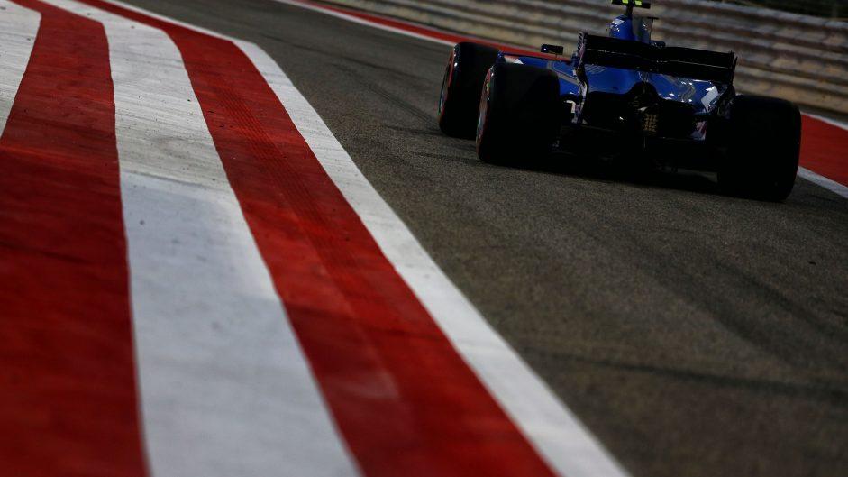 Pascal Wehrlein, Sauber, Bahrain International Circuit, 2017
