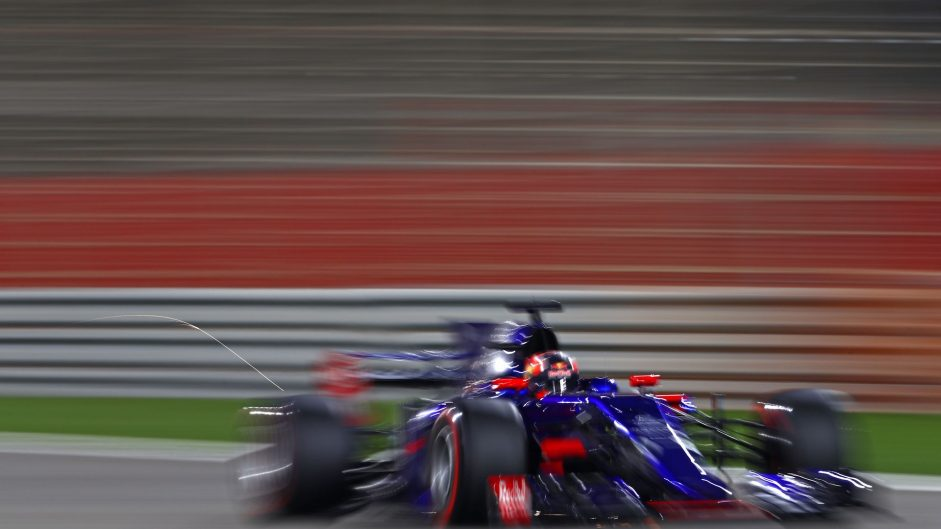 Daniil Kvyat, Toro Rosso, Bahrain International Circuit, 2017