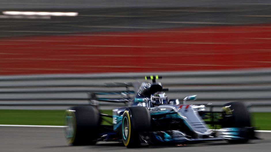 Valtteri Bottas, Mercedes, Bahrain International Circuit, 2017