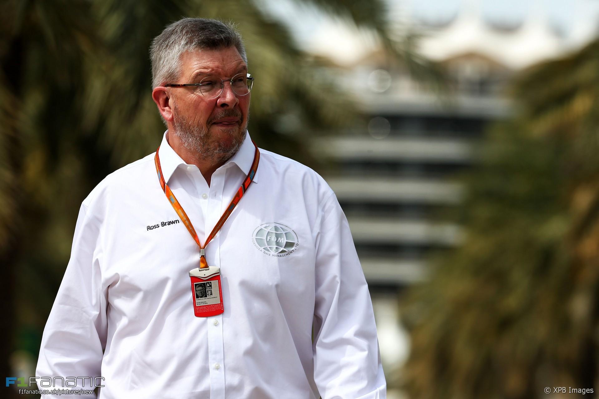 Ross Brawn, Bahrain International Circuit, 2017