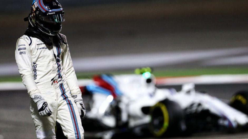 Lance Stroll, Williams, Bahrain International Circuit, 2017