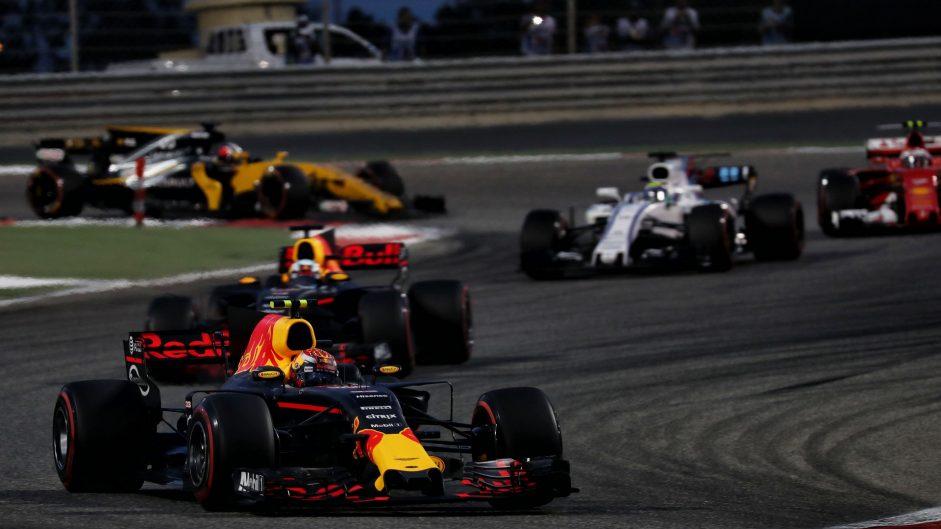 Max Verstappen, Red Bull, Bahrain International Circuit, 2017