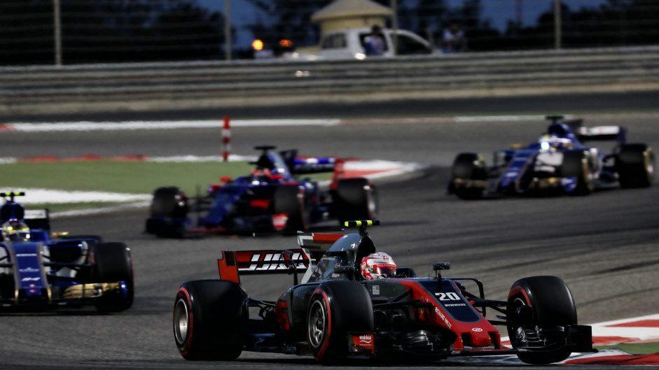 Kevin Magnussen, Haas, Bahrain International Circuit, 2017