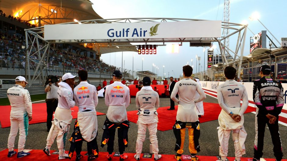 Drivers, Bahrain International Circuit, 2017
