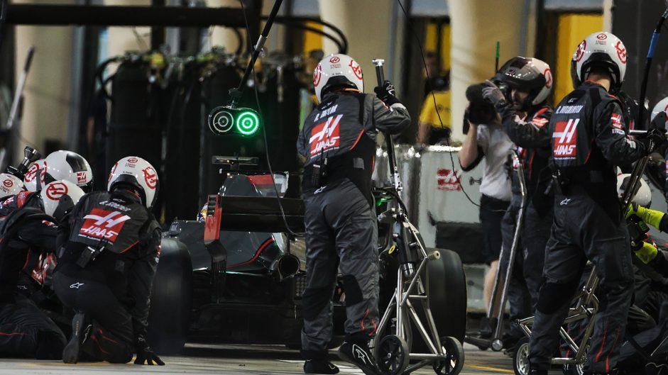Romain Grosjean, Haas, Bahrain International Circuit, 2017