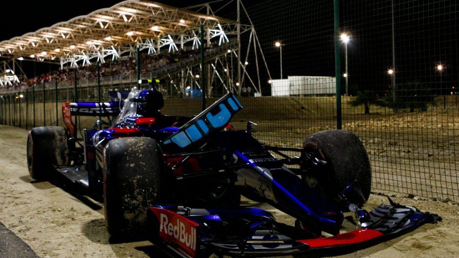Carlos Sainz Jnr, Toro Rosso, Bahrain International Circuit, 2017