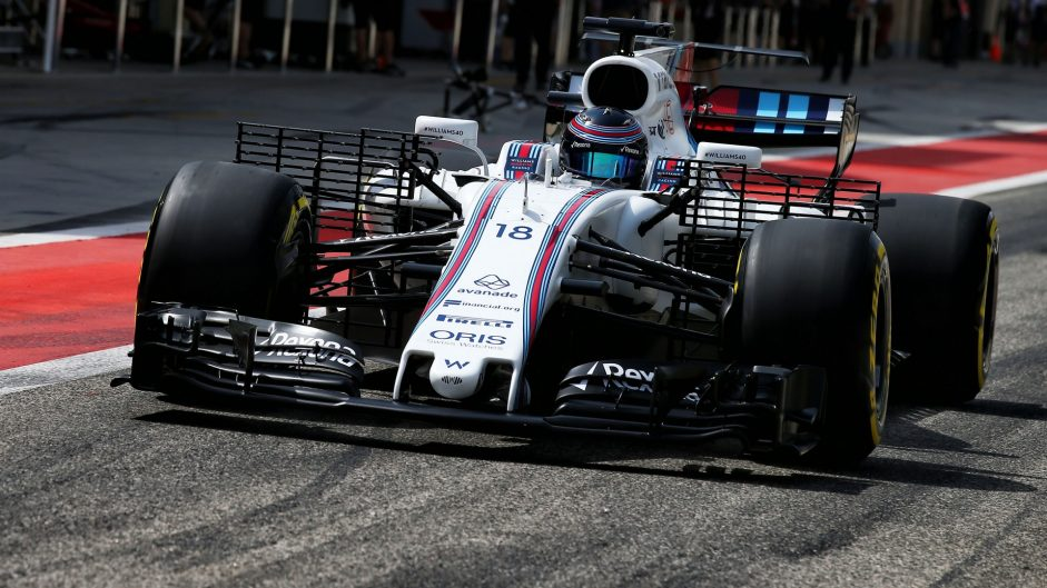 Lance Stroll, Williams, Bahrain International Circuit, 2017