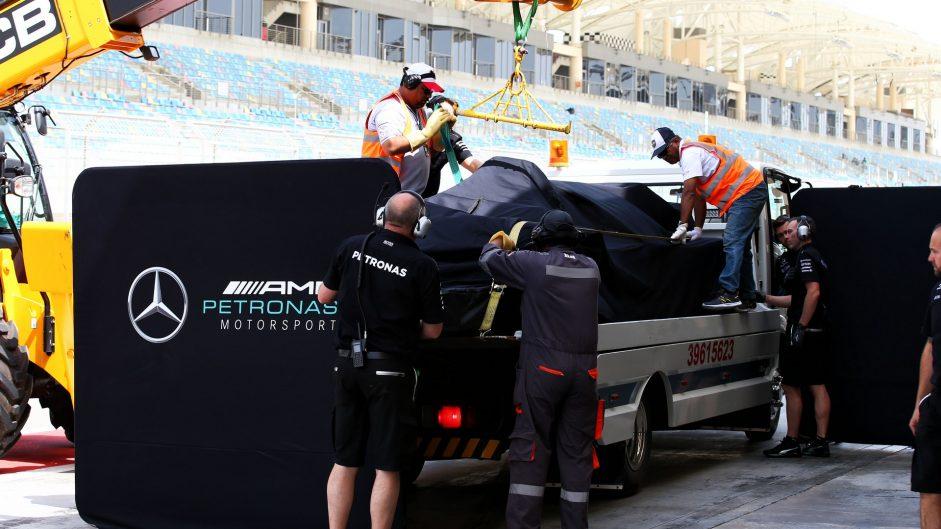 Mercedes, Bahrain International Circuit, 2017