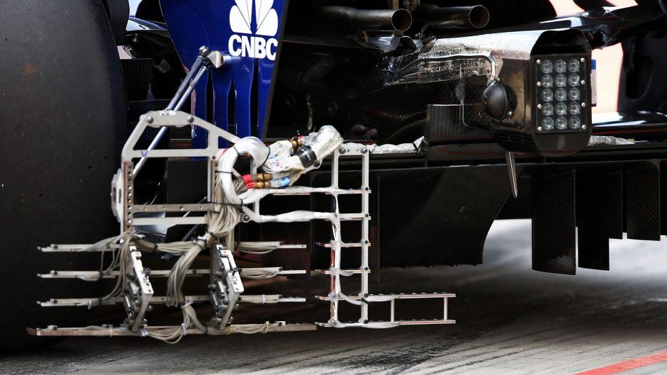 Sauber C36, Bahrain International Circuit, 2017